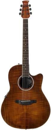 Электроакустическая гитара Applause AB24IIP-VF Balladeer Mid Cutaway Vintage on Flame