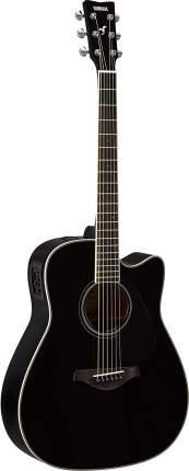 Электроакустическая гитара Yamaha FGX820C BL с вырезом