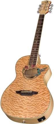 Электроакустическая гитара Luna FAU HUM