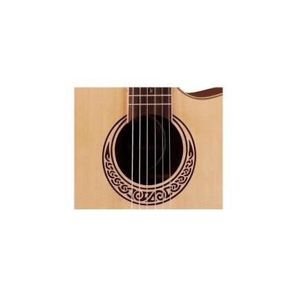 Электроакустическая фолк-гитара Luna Mus Nyl с нейлоновыми струнами