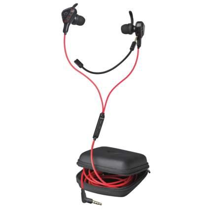 Игровые наушники Trust GXT 408 Cobra Multiplatform Gaming Earphones Red/Black