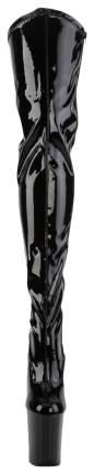 Стрипы Pleaser Flamingo-3000 8 inch Heel черные р.38
