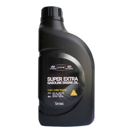 Моторное масло Hyundai Super Extra Gasoline SAE 5W-30 4л