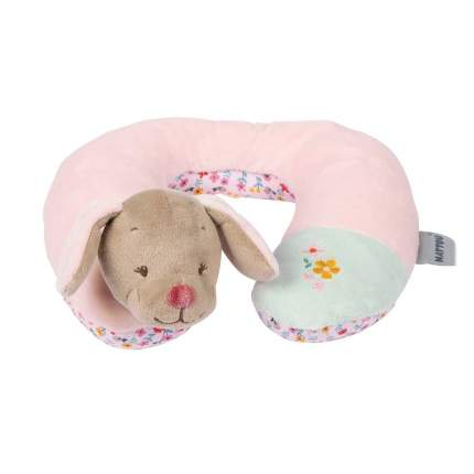 Подушка-подголовник Nattou Neck pillow Iris & Lali Собачка