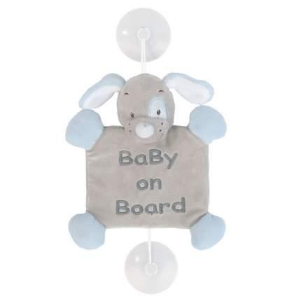Знак автомобильный Nattou Baby on board Iris & Lali Собачка