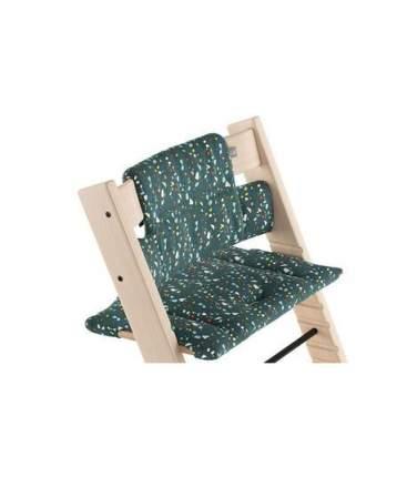 Подушка Stokke для стульчика Tripp Trapp Terazzo Petrol