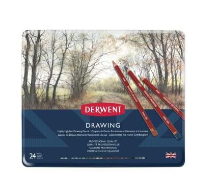 "Набор цветных карандашей ""Drawing"", 24 цвета"