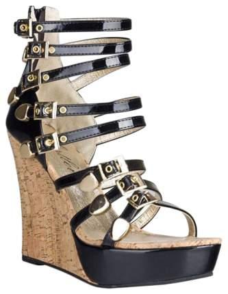 Босоножки Hustler Shoes Glamour Slipper на высокой танкетке р.36