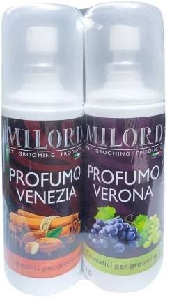 """Парфюм для животных Milord """"Venezia"""", с запахом миндаля и специй+""""Verona"""", с  виноградом"""