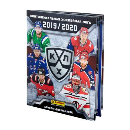 Альбом для наклеек Panini хоккей кхл сезон 2019-2020