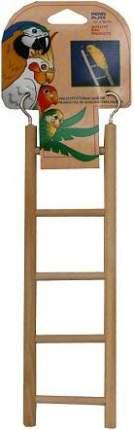 Лестница для птиц Penn-Plax, Лесенка, дерево, 6.5x24см