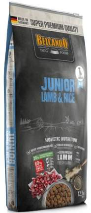 Сухой корм для собак BELCANDO Junior , ягненок, рис,  12.5кг