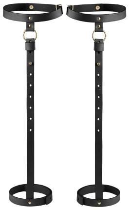 Бондажный комплект Bijoux Indiscrets Maze Back leg garter черный