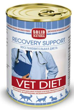 Влажный корм для кошек SOLID NATURA Vet Recovery Support , курица, 340г
