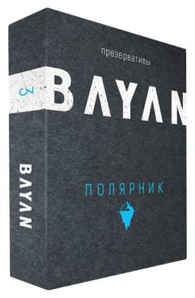 Презервативы Bayan пролонгирующие Полярник 3 шт.