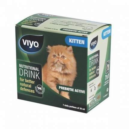 Пребиотический напиток для укрепления иммунитета для котят VIYO Reinforces Cat Kitten 30мл
