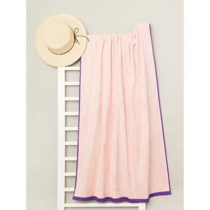 Полотенце пляжное велюровое Fiesta Crafts Bradley 80х170 см, розовый