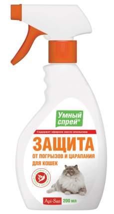 Спрей для защита от погрызов, защита от царапания для кошек Api-San, апельсин, 200 мл