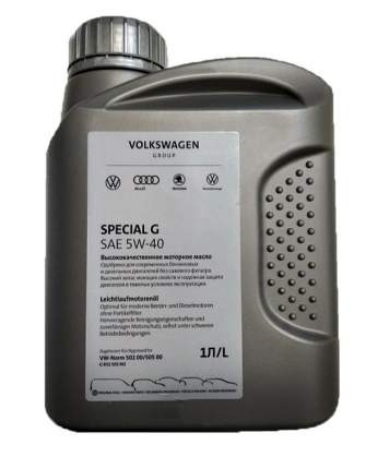 Моторное масло VAG Special G VW 5W40 1л