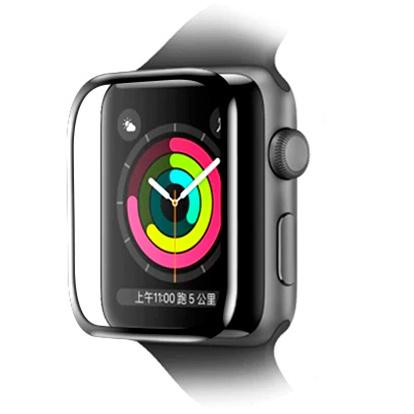 Защитное стекло для смарт-часов Baseus Full-screen Curved для Apple Watch 1/2/3 38мм