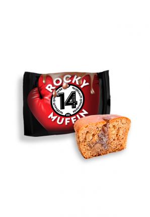 Кекс Muffin ROCKY со вкусом яблочного штруделя 55г