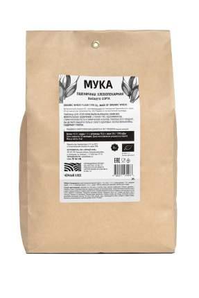 Мука пшеничная Черный хлеб высшего сорта 2 кг