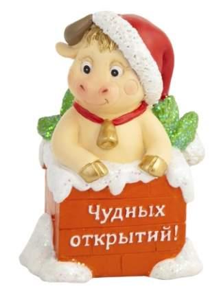 Новогодняя фигурка Бычок в печной трубе Феникс Present 81598
