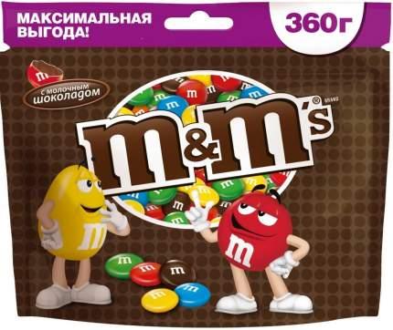 M&M`s конфеты Шоколадный 360 гр 3 упаковки