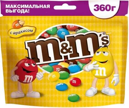 M&M`s конфеты Арахис 360 гр 3 упаковки