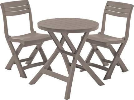 Набор садовой мебели Keter Jazz set 17204593 cappuccino 3 предмета
