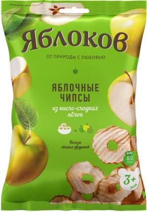 Чипсы фруктовые  Мультяша кисло-сладкие яблоки