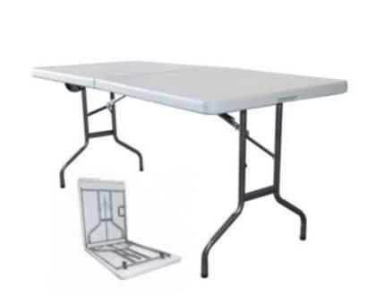 Стол для пикника  Стол складной банкетный Z242S Белый