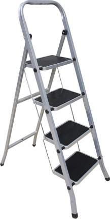 Стремянка стальная Perilla Класс Плюс, 4 широкие ступени 20х30 см, до 120 кг