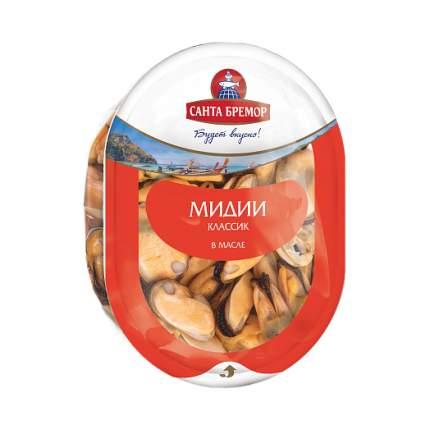 Мясо мидии санта бремор классик в растительном масле 150 г пл/уп санта бремор беларусь