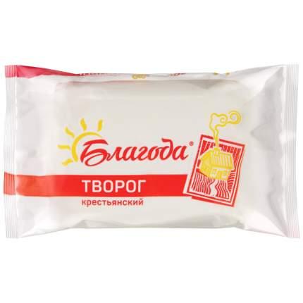 Творог благода бзмж жир. 12 % 180 г п/п ооо молочное дело ивня россия