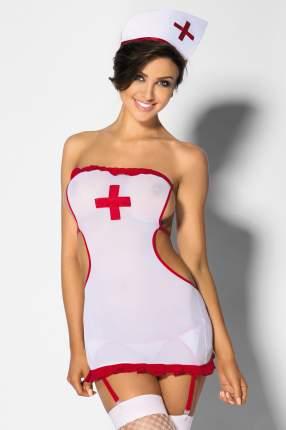 Комплект медсестры Persea, белый с красным, XL, Anais