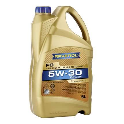 Моторное масло Ravenol FO SAE 5W-30 5л