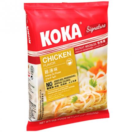 Лапша со вкусом курицы SIGNATURE в пакете KOKA, 85г