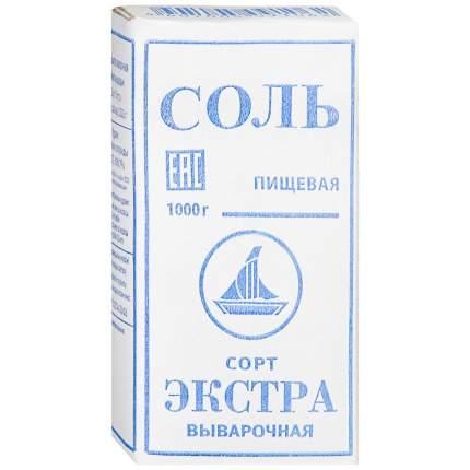 Соль экстра пищевая/выварочная 1000 г к/к тдс россия
