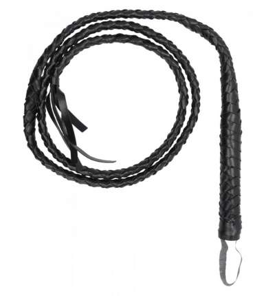 Черный витой кнут Twisted Whip Shots Media BV