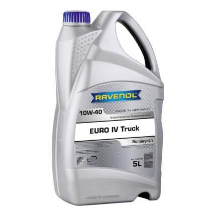 Моторное масло Ravenol EURO IV Truck SAE 10W-40 5л
