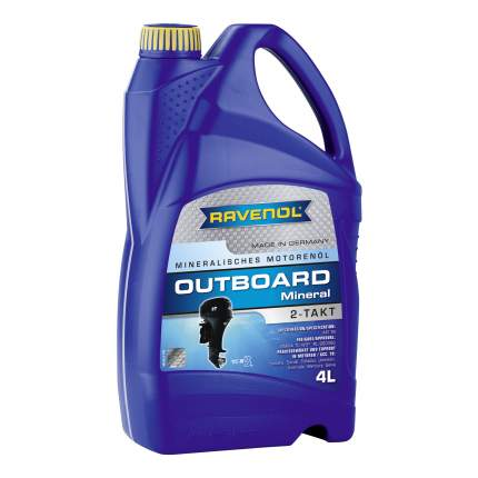 Моторное масло Ravenol Outboard 2T Mineral 5W-30 4л
