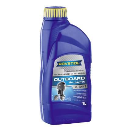 Моторное масло Ravenol Outboardoel 2T teilsynth 5W-30 1л