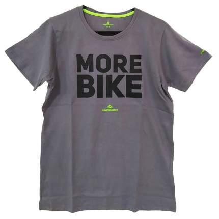 Футболка Merida T-Shirt More Grey кор.рукав M (2287012979)