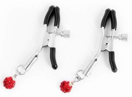 Металлические зажимы на соски с декором в виде красных шариков Bior toys