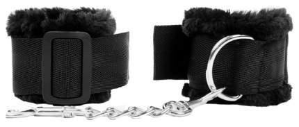 Черные наручники на регулируемых пряжках Bior toys