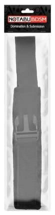 Черные мягкие наручники на липучке Bior toys