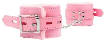 Розовые мягкие оковы на регулируемых ремешках Bior toys