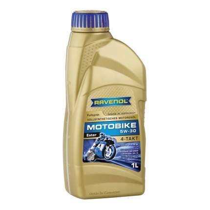 Моторное масло Ravenol Motobike 4-T Ester 5W-30 1л