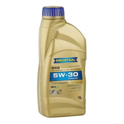 Моторное масло Ravenol DXG SAE 5W-30 1л